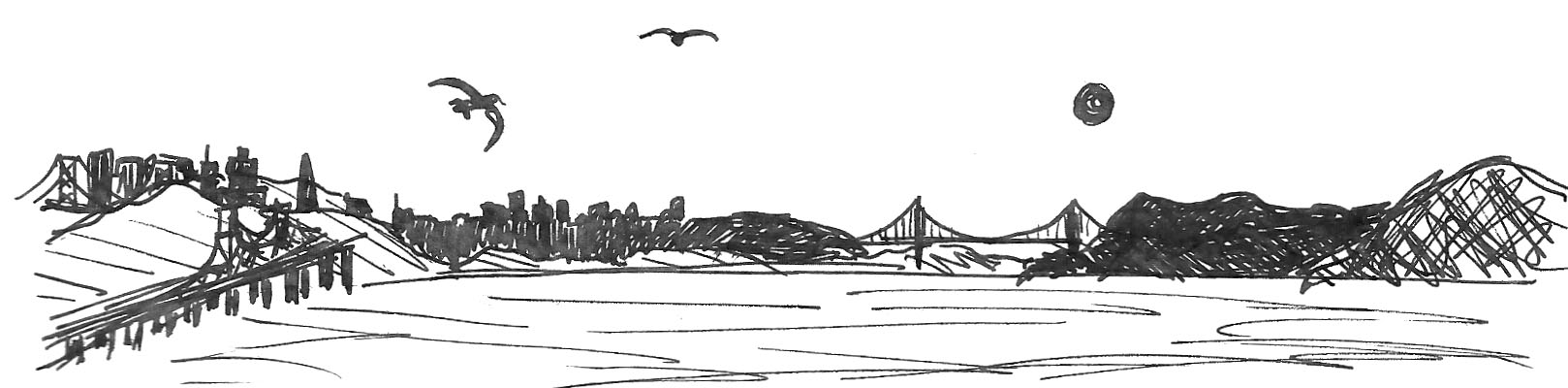 san francisco drawing